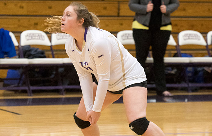 Women's Volleyball Begins Campaign with Pair of Setbacks in Union Invitational