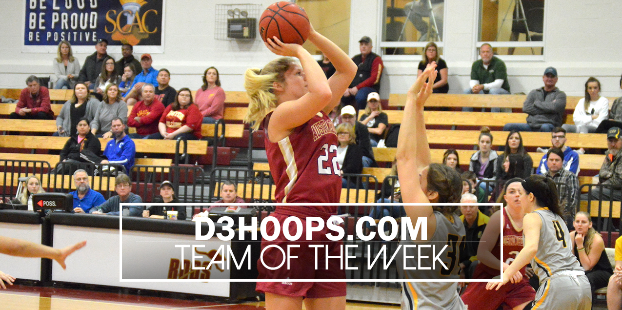 Austin College's Frank Named to D3Hoops.com Team of the Week