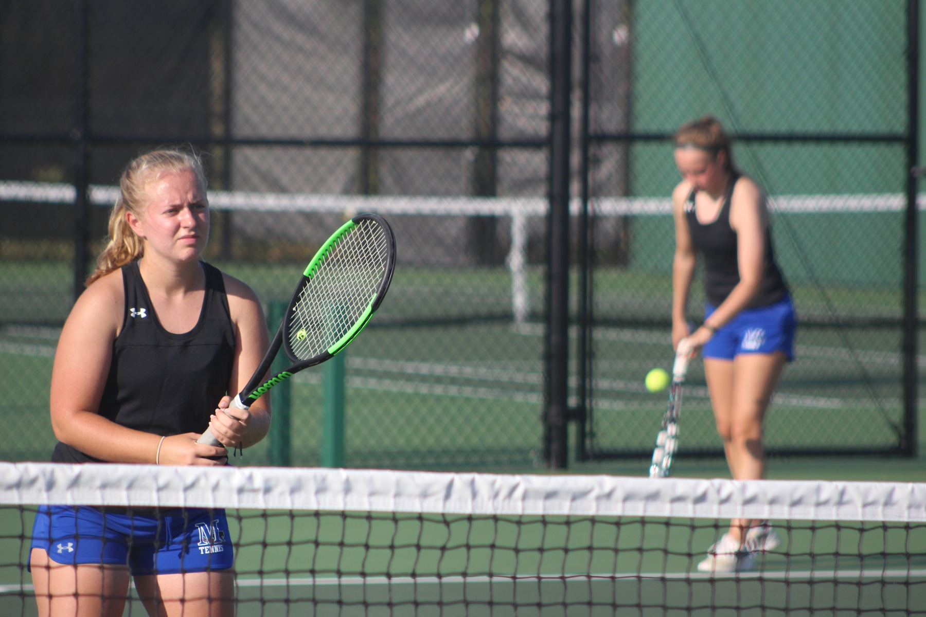 Marian tennis clinches tourney berth with sweep of CUC