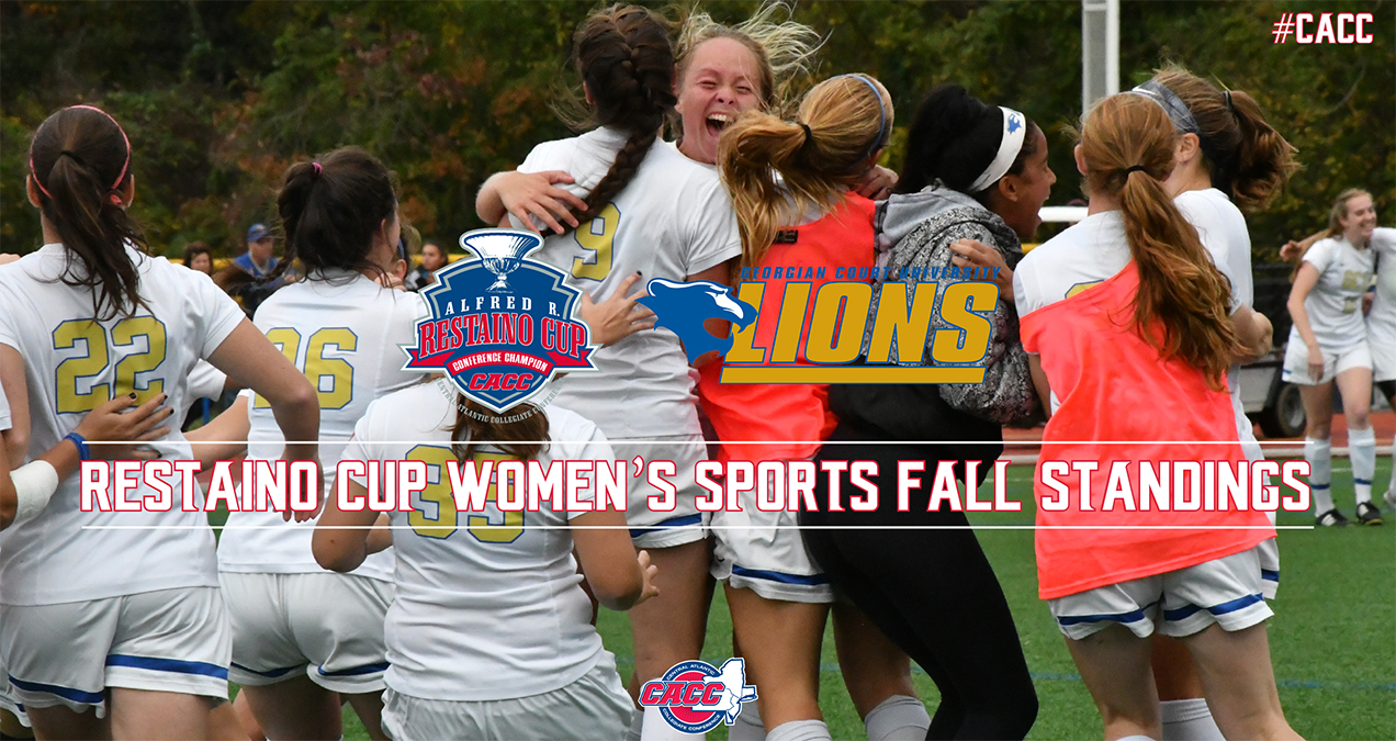 Georgian Court Sits Atop 2017-18 CACC Restaino Cup Standings Following the Fall Season