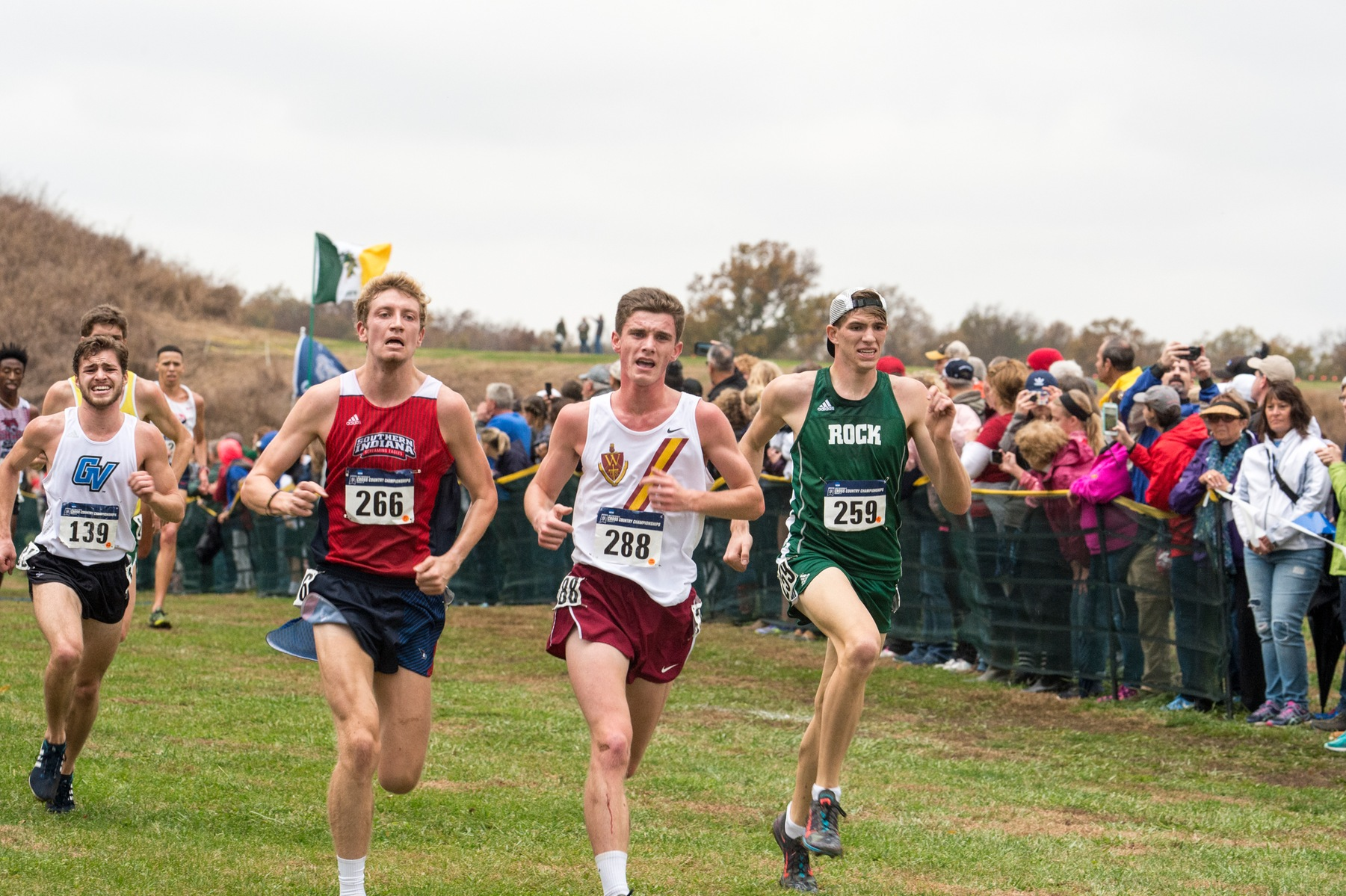 Men's XC Finish 22nd at National Championships