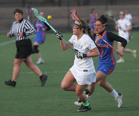 Sage Lacrosse Team Tallies 19 goals and posts key Skyline win behind Carr's 9 goals