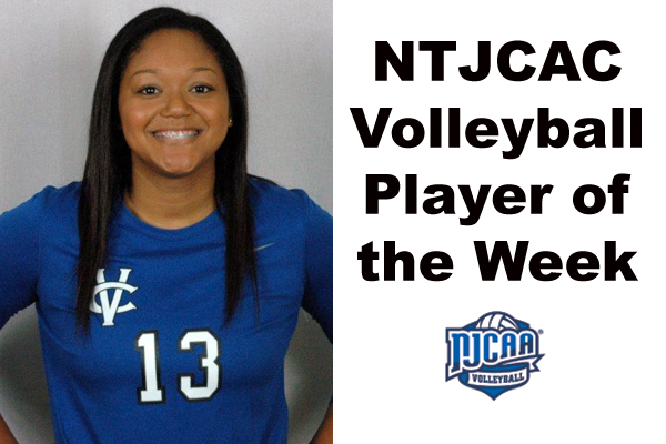 NTJCAC Volleyball Player of the Week