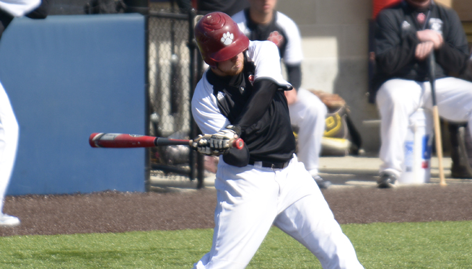 Leahey Has Strong Day as Baseball Splits with UMPI