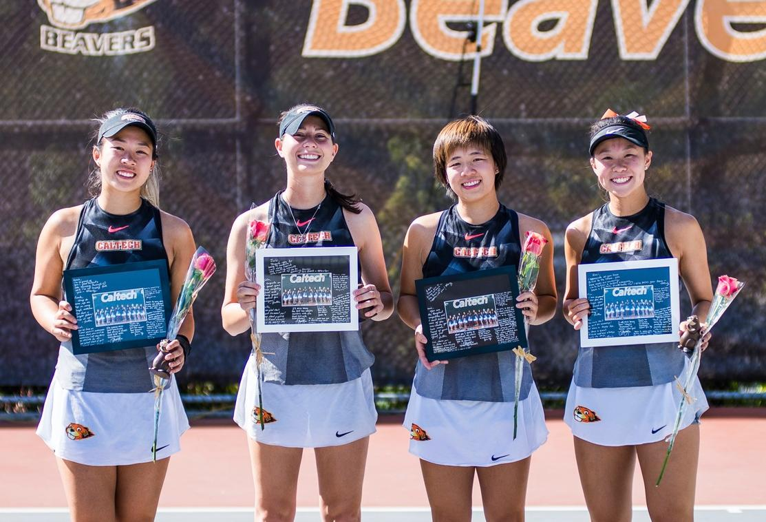 Women's Tennis Shuts Out Occidental on Senior Day