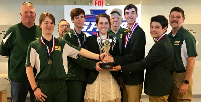 Ware Rifle Team Wins Back to Back State Titles
