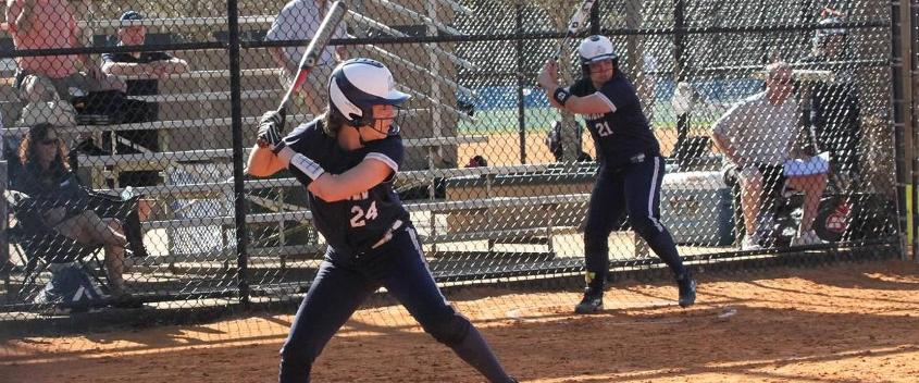 Softball falls to Wellesley, 9-6 and 11-1, in home opener