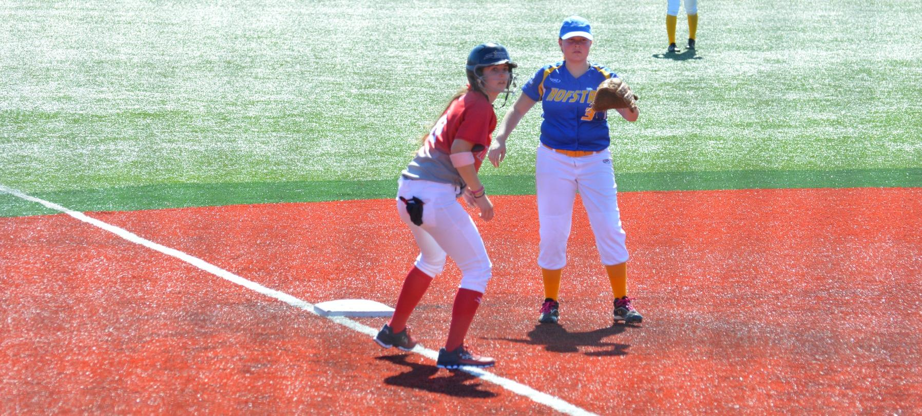 Pair of Underclassmen Lead Club Softball to Sunday Sweep