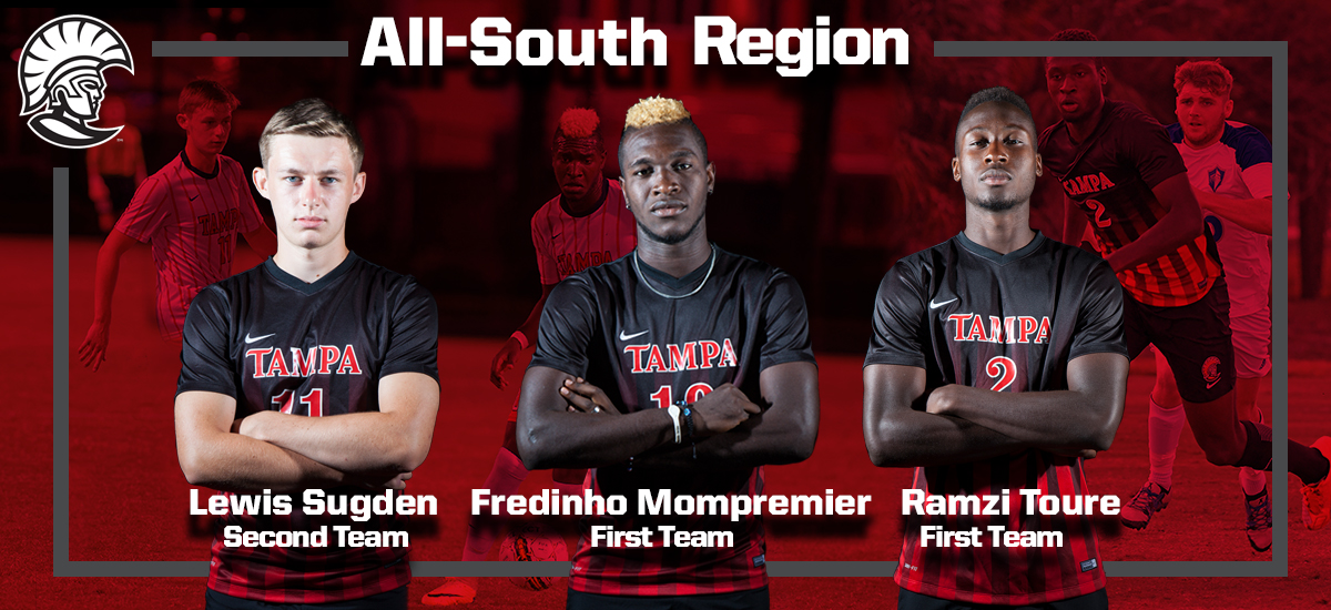 Trio of Spartans Earn D2CCA All-South Region Honors