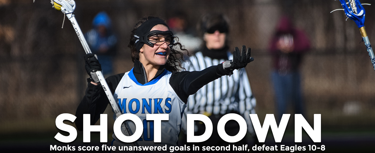 Monks Net Five Unanswered Goals in 10-8 Victory over Husson