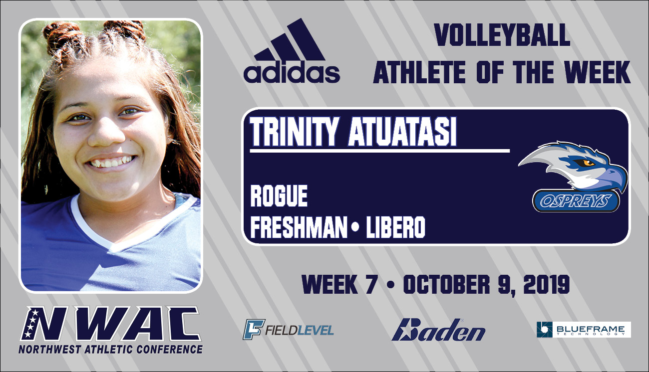 Adidas Athlete of the Week Graphic for TRINITY ATUATASI