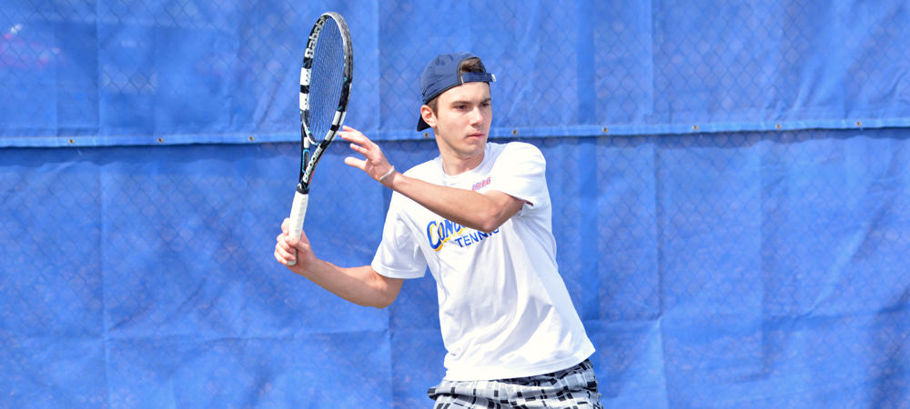 Clippers Men's Tennis Opens CACC Schedule with an 8-1 Win Over Post