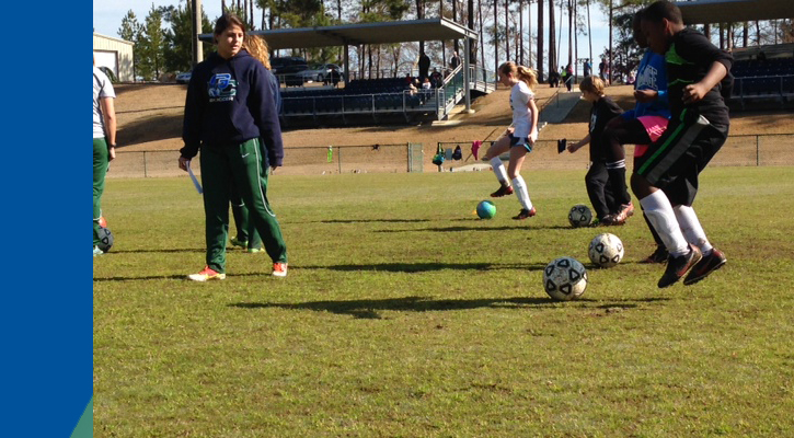 Local Youth Hone Skills at March Bobcat Soccer Free Clinic