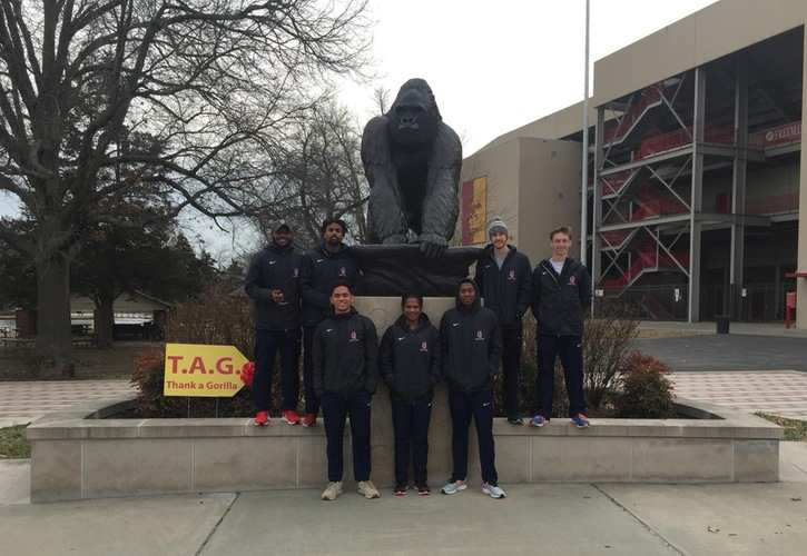Spartans Compete at Indoor National Championships