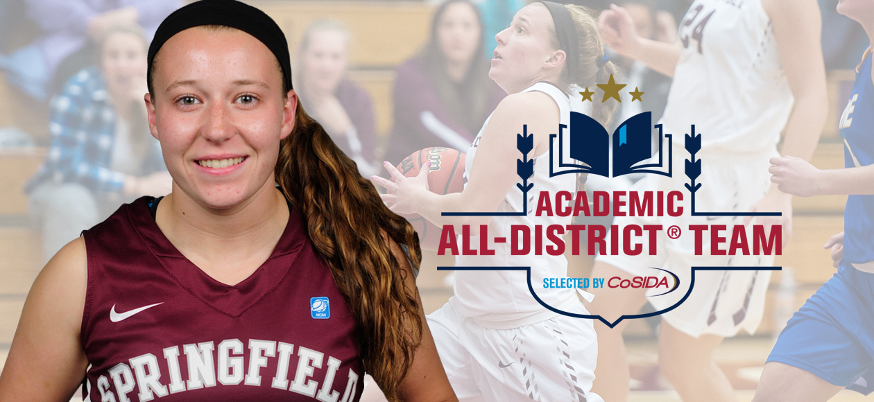 Women's Basketball's Goslin Earns CoSIDA Academic All-District Honors With 4.0 Grade-Point Average