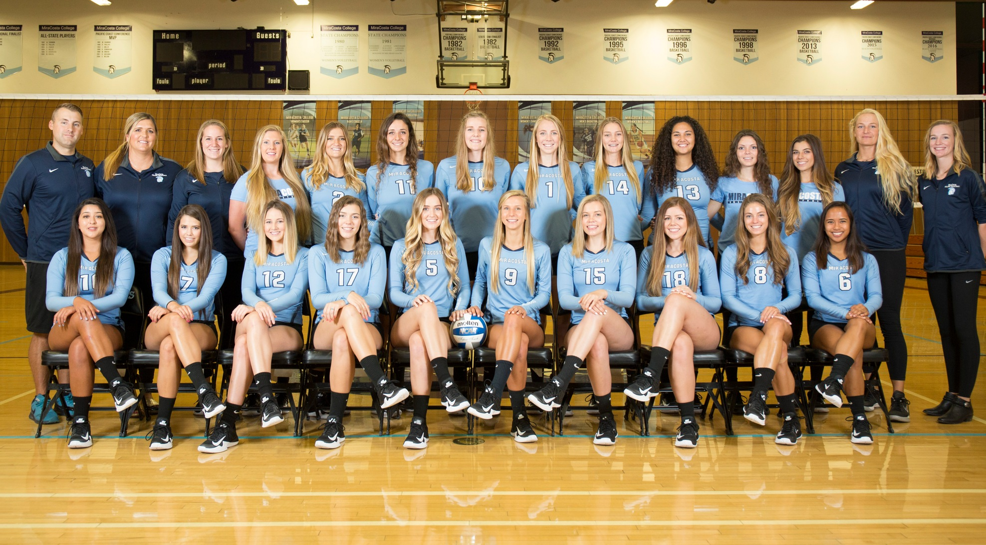 Team Picture, Women's Volleyball 2017.