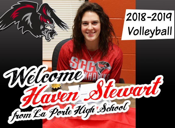SCC Volleyball Inks Player