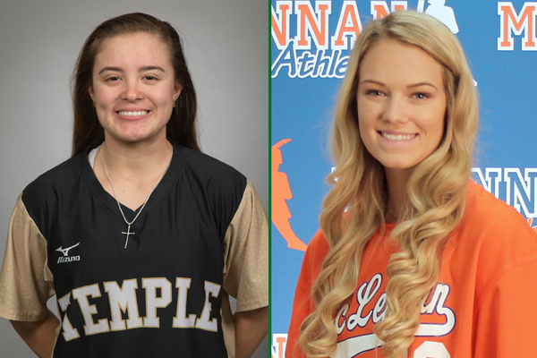 NTJCAC Softball Players of the Week (Jan. 21-27)