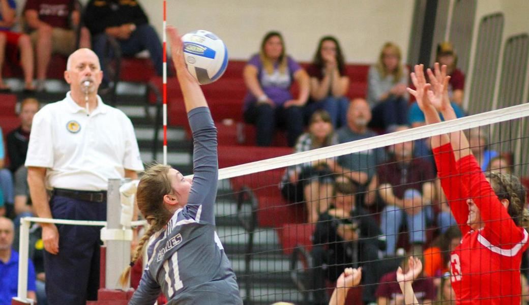 Volleyball Earns Conference Win