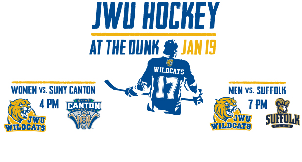 Tickets Go on Sale Tuesday for JWU Hockey Games at the Dunk