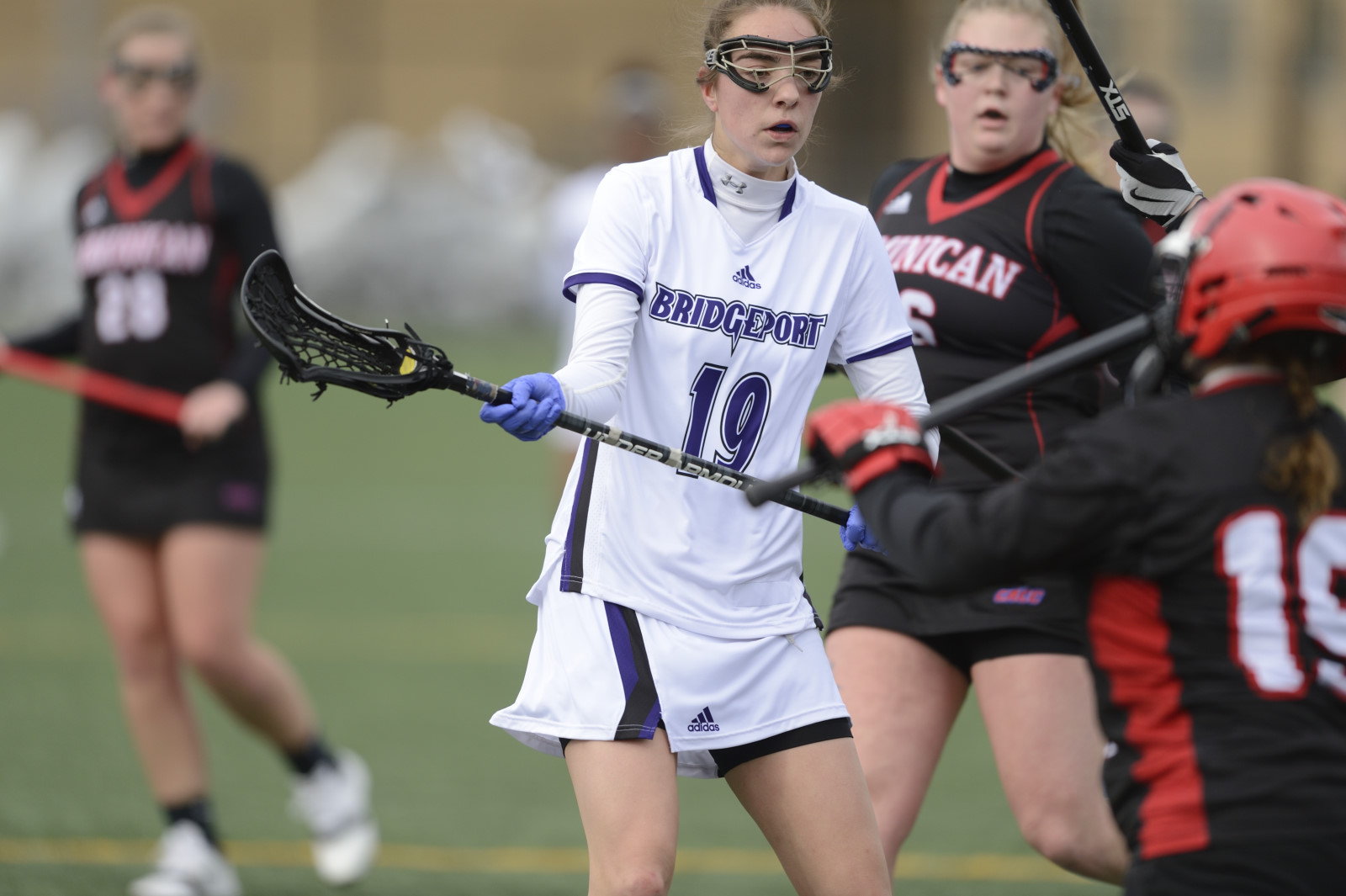 UB Nets Final Three Goals Of The Game To Post 13-10 Women's Lacrosse Win At Caldwell