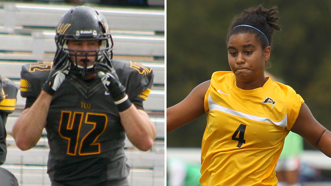 Texas Lutheran's Snowden; Southwestern's Duggins Chosen SCAC Character & Community Student-Athletes of the Week