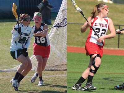 ECAC honors Swarthout and Robinson for recent play