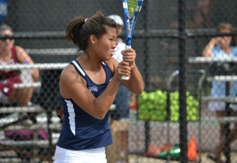 #21 UMW Women's Tennis Tops Washington College, 7-2