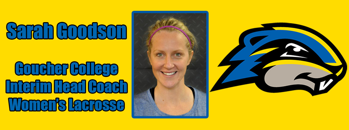 Sarah Goodson Named Interim Women's Lacrosse Head Coach At Goucher College