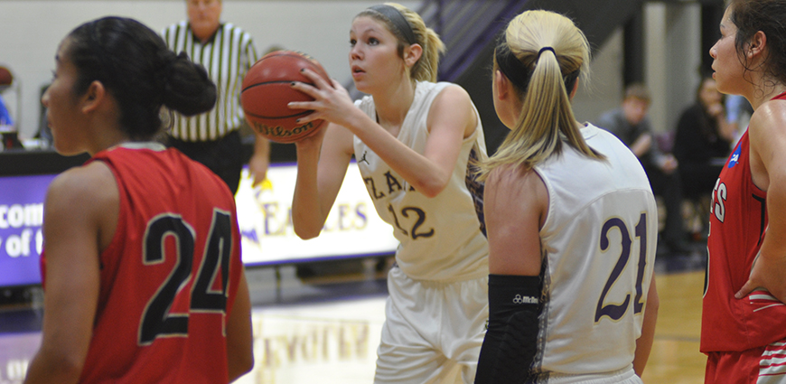 Lady Eagles Struggle From The Field In Loss