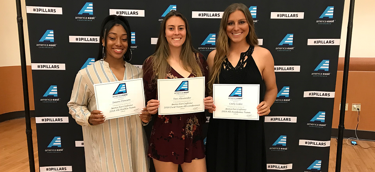 Alexander Repeats as First Team All-Conference, Dawson & Lesko Also Honored; Softball Begins Conference Tournament on Wednesday