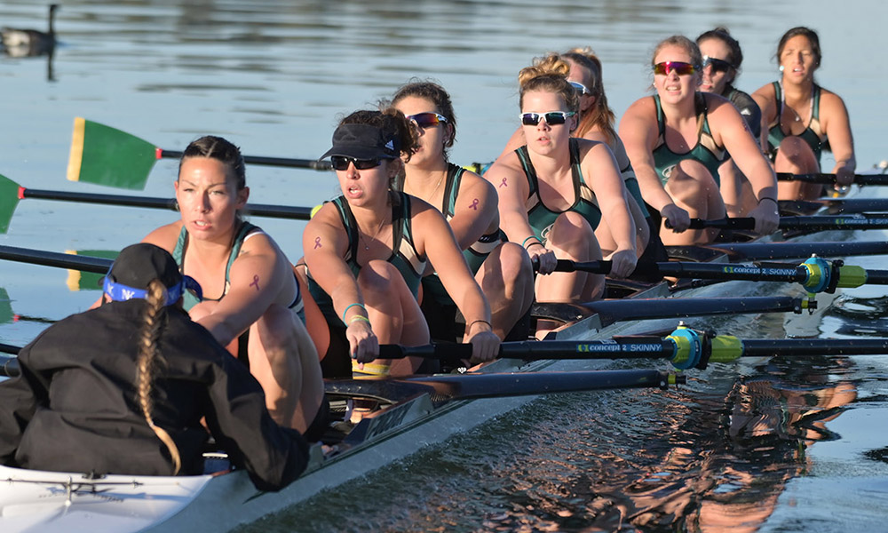 FIRST DAY OF SAN DIEGO CREW CLASSIC FINISHED, ROWING HAS TWO BOATS IN SUNDAY'S GRAND FINAL