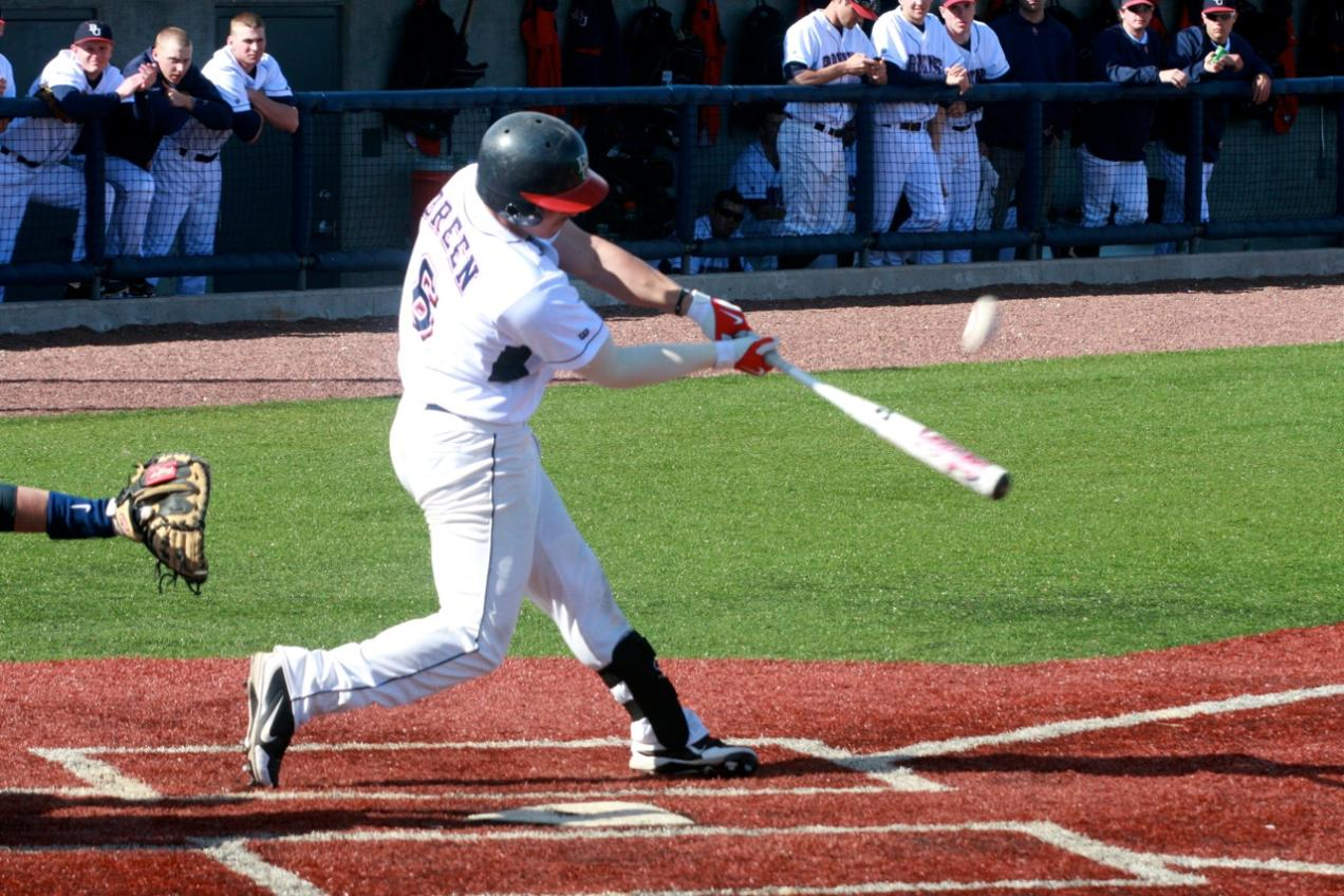 Pair of Home Runs from Breen Lifts Belmont Over Murray State