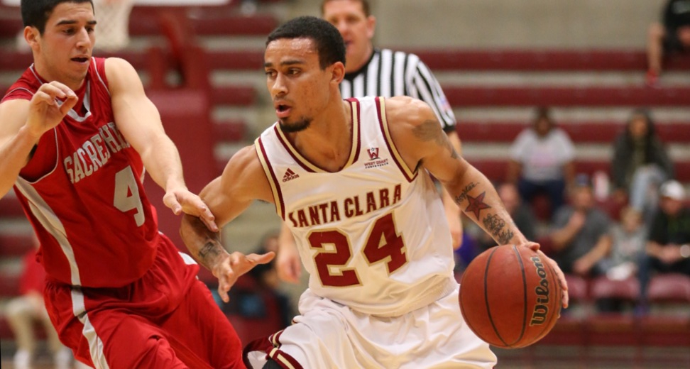 USF Tops Santa Clara At Leavey Center