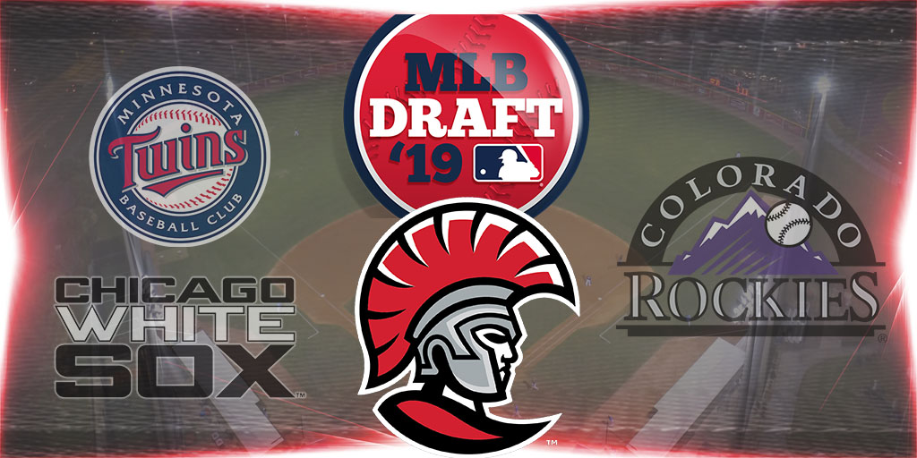 Four Spartans Selected in 2019 MLB Draft