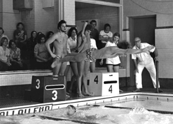McGilvray Natatorium, former home of Tiger swimming & diving