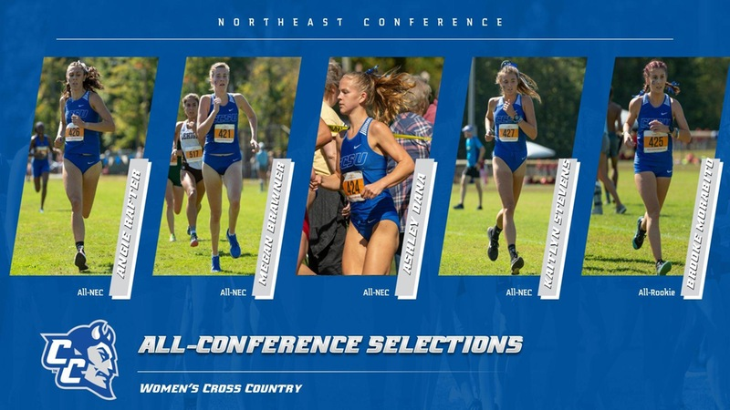 Central Sweeps NEC Women's Cross Country Weekly Awards