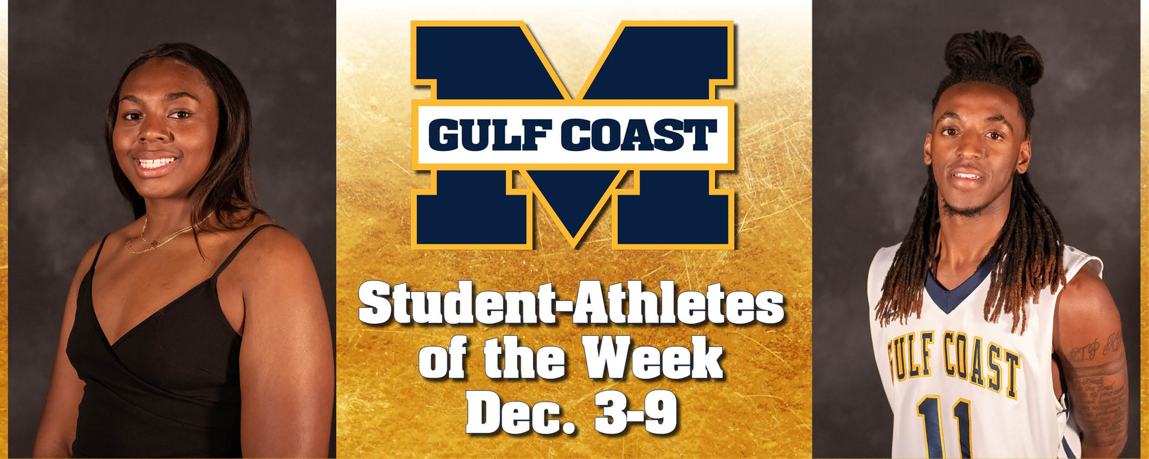 Simmons, Spivery named MGCCC Student-Athletes of the Week