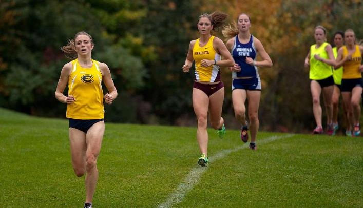 Women's Cross Country Competes at Lake Wissota Meet