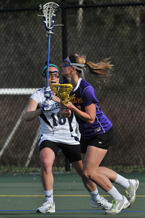 Women's Lax Pulls Away From Wesleyan To Win Home Opener