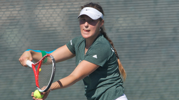 WOMEN'S TENNIS ENDS REGULAR SEASON WITH 7-0 LOSS AT #10 CAL
