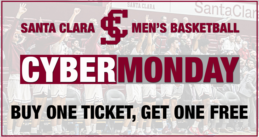 Cyber Monday Options for Men's Basketball Tickets