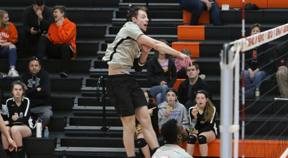 Black's double-double leads men's volleyball to win over North Park