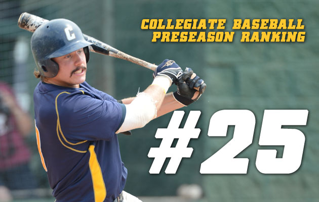 Coker Baseball Cracks Preseason Top 25