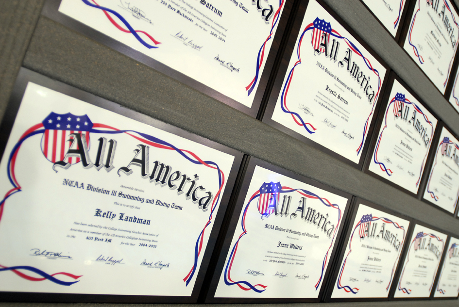 All-American Certificates