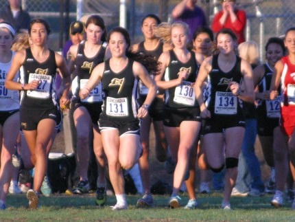 "Women's and Men's Cross Country Teams Show Well at ""The Dual"""
