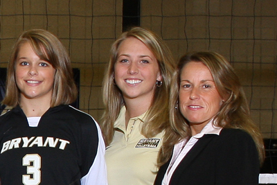 BRYANT ASSISTANT COACH LAUREN AMUNDSON NAMED HEAD VOLLEYBALL COACH AT STONEHILL COLLEGE