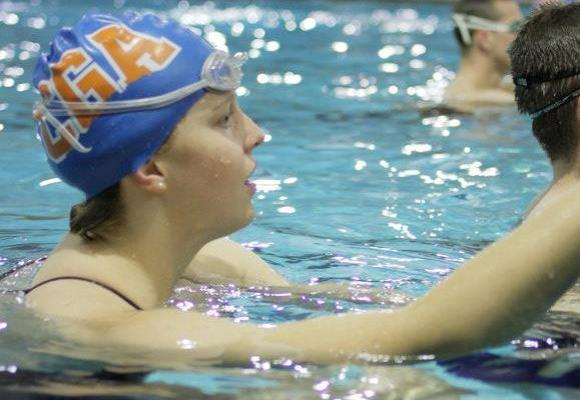 Women's Swimming and Diving Grabs First Win at Wheaton