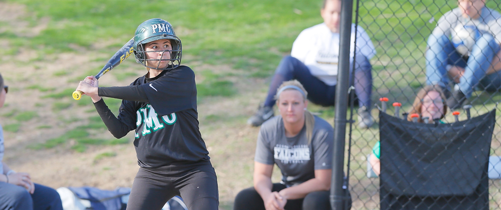 Falcons Sweep Pine Manor in Saturday Doubleheader