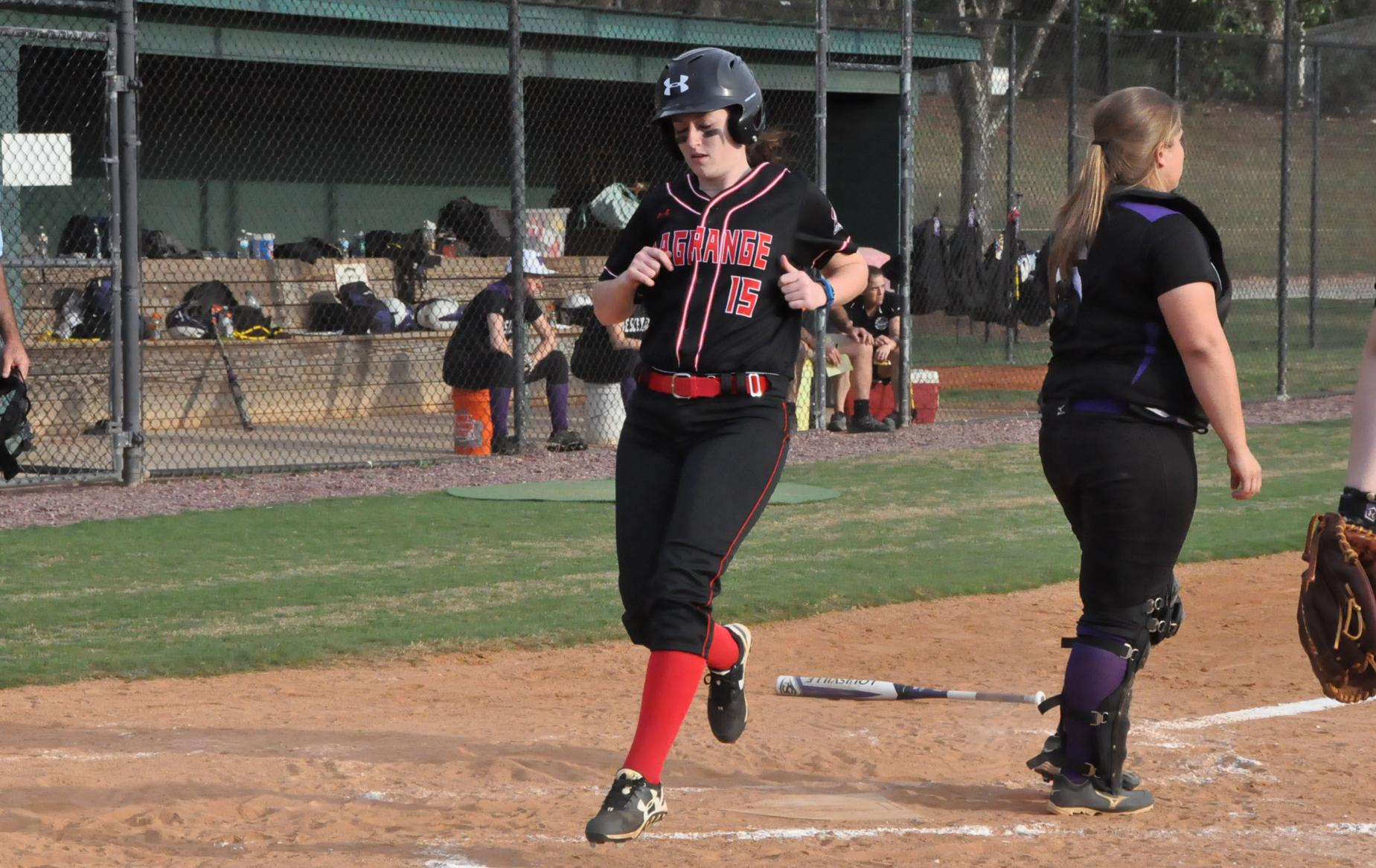 Softball: Panthers score combined 27 runs in sweeping Agnes Scott